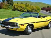 1970 Dodge Challenger R/T Convertible ID#