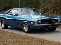 1970 Dodge Challenger RT  440 Magnum, The interior is