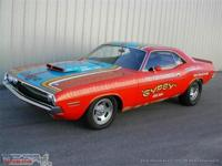 "1970 '70 Challenger T/A 340 SIX PACK, ""Gypsy"""
