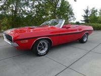 Nice R/T tribute convertible! Very fresh build and