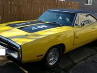 For Sale my 1970 Dodge Charger R/T. The car is a real