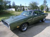 1970 Dodge Charger Special R/T, 440 magnum engine,