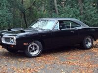 Restored classic Dodge Muscle car. Just a little