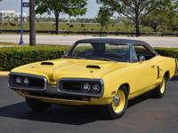 1970 DODGE CORONET RT 440CI 375 HP 4-SPD PISTOL GRIP