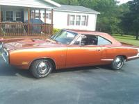 70 dodge super bee, i bought the car from the orignal