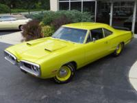 This beautiful Dodge Super Bee is an investment quality