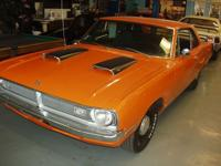 1970 DODGE DART SWINGER 340 Manual 4 speed car with its