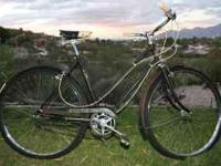 "Vintage 1970 three speed ""Essex"". Made in England."