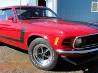This is a very rare Boss Mustang that went through a