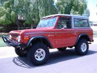 Custom 1970 Ford Bronco that is one of the cleanest