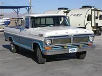 1970 Ford F100 Long Bed 428 Big Block, Auto Trans,
