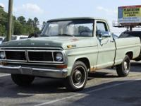 1970 Ford F100 pickup truck. 1 owner, ORIGINAL title