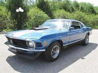 Just in is this real deal 1970 Ford Mustang Mach one