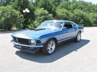 Ready to go is this real deal 1970 Ford Mustang Mach