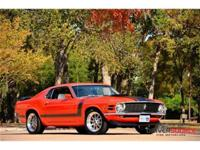 This 1970 Ford Mustang Boss 302 . It is equipped with a