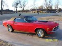 1970 Ford Mustang 302 Coupe for sale. Three Speed on