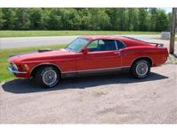 1970 Mustang Mach 1 , AuTomatic 351 , orig A/C car,