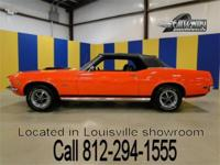 1970 Ford Mustang Convertible in its original color