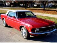 1970 Ford Mustang Convertible This car is the prize