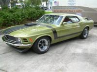 1970 Ford Mustang Sport Roof Boss 302 for Sale. Built