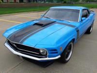 1970 Pro Tour Boss 302 Mustang with ground pounding