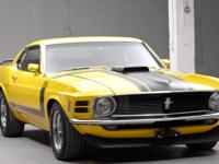 1970 Ford Mustang Boss 302   Complete & Documented