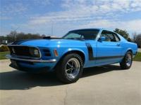 This 1970 Boss 302 Mustang comes with a Ken Marti