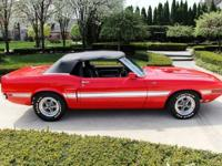 1970 Ford Mustang Convertible - Shelby GT-500