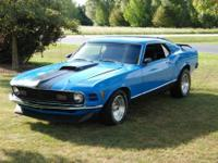 1970 Ford Mustang Fastback ..Powerful 302 V8
