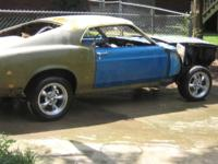 RESTORATION PROJECT 1970 FORD MUSTANG FASTBACK (Rolling