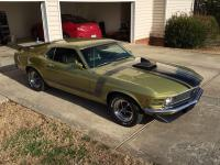 I am listing my 1970 Boss 302-Matching numbers car.