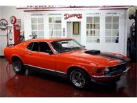 GREAT OPTIONS AND GREAT COLORS ON TH 1970 Ford Mach 1.