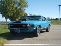 "Available original 1970 Ford Horse Mach 1 with ""hand"