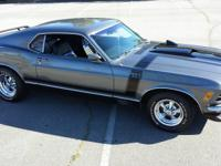 1970 Ford Mustang Mach 1 Fastback 351. Genuine Mach 1.