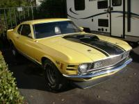 THIS ORIGINAL MACH 1 IS UNRESTORED,NOT DRIVEN IN SNOW