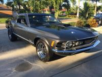 1970 Ford Mustang Mach I  1970 Ford Mustang Mach I with