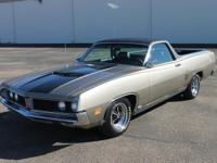 1970 FORD RANCHERO GT. Excellent and immaculate overall