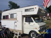 I own a 1970 Ford shasta Motorhome and it is in