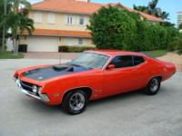 1970 Ford Torino 429 super cobra jet . This car is
