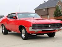 1970 Ford Torino GT 460 Built Gorgeous Red Marti-For a