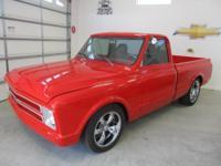 1970 GMC Custom pickup truck frame-off restoration