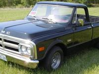 Short wheel based 1970 GMC (rare) gone through Engine