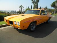 This is a beautiful 1970 Pontiac GTO, car since 1970,