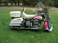 1970 FLH Shovelhead Original SurvivorA True Barn
