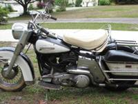 1970 FLH-1200 Electra Glide Shovelhead. This is the