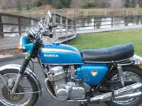 1970 CB750 in Candy Blue Green is probably one of the