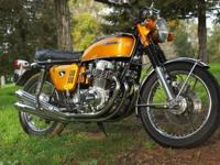 up for sale one very nice original 1970 Honda CB750 KO,
