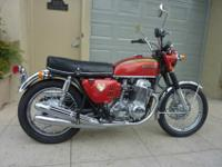BEAUTIFUL 1970 HONDA K0 CB750 RECENTLY RESTORED WITH