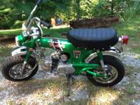 This is a 1970 CT70 Honda It has been partially