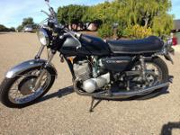 1970 Kawasaki H1 500 - Peacock GreyI have decided to